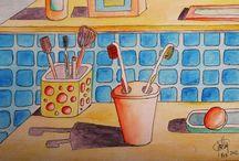 Dibujando - Pintando - Coloreando