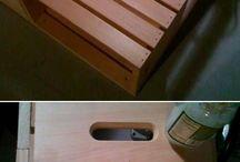 Стол из ящика