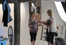 Behind the Scenes of the FittaWear shoot! / Enjoy some behind the scenes shots from the FittaWear shoot with our beautiful pregnant models!