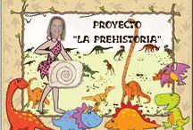 COLEGIO TEMAS Prehistoria / Tablero. con diferentes propuestas y recursos para trabajar la Prehistoria en Educación Infantil. / by David Olmedo