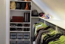 Sloped Ceilings / Closets / Bedrooms / Decorating with sloped ceilings