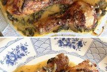 pollos y carnes
