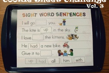 Sight Words and Word Families / by Larena Kern