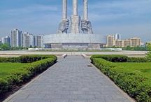 Monuments communiste Nord coréen