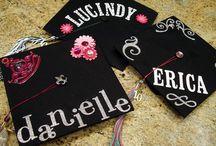 Graduation hat ideas / by Tonya Yingling