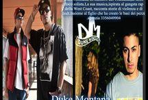 Duke Montana Tour(Black Barz)ed è formato da Duke,Sick Luke,Seppia,Muggio.agenzia 3356049904
