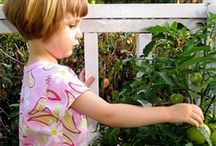 Kids Gardening and Easy Garden Ideas / A collection of #gardening ideas for #kids and other simple easy things you can do outdoors.