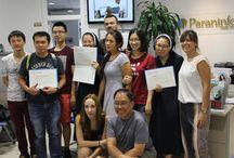 Entrega diplomas curso español julio 2015 / Hoy hemos entregado los diplomas a los estudiantes en su último día de curso. ¡Muchas gracias a tod@s!