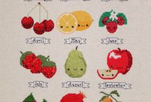 Embroidered Fruit