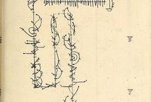 contemporary music score