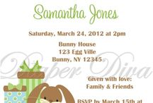 "Baby Shower Invitations BY Diaper Diva Creations / Impress your guests with these adorable baby shower invitations that will have everyone talking and saying ""Awww""."