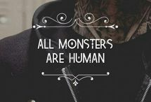 American horror story / All monsters are human.