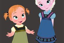 Anna ed Elsa baby