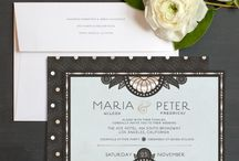 Modern Classic Wedding / Inspiration and ideas for a modern classic wedding theme.