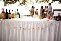 Bar & Beverages / Bar Tables, Menus, Cocktails & Accents