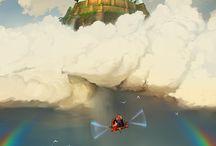 Inspirations / Fantasy landscapes, fantastic pics