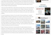 MPI in the Press / Majestic Penthouse International's appearances in international press - news, interviews, articles.