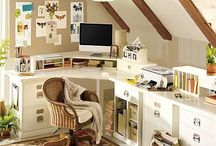 My home office / by Rebecca Levin