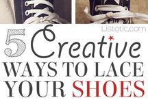 different ways to lace shoes