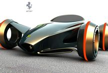 Futuristic vehicles / Cars and motorcycles that will revolutionise driving with more speed, safety, and less space taken up