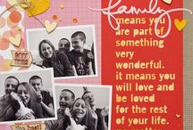 Scrapbook - layouts - family