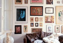 // inspiration : gallery walls