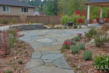 Garden: Retaining Walls & Rockeries / Garden retaining walls & rockeries