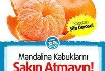 mandalinanin faydaları