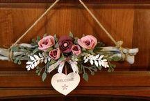 Για την πορτα λουλουδια