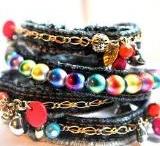Bracelets old jeans
