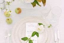 Summer Weddings / Stay cool in the heat of the summer with this inspiration for elegant, organic summer weddings!!