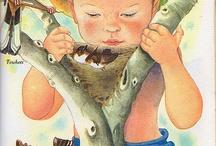 Children's books (art illustrations)