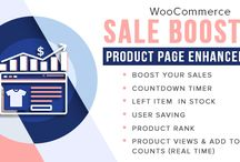 Woocommerce Sale Booster - Product Page Enhancement / #Woocommerce #Sale #Booster – #Product Page #Enhancement allows you to put your sales on the peak. It just lets you show the customer that how demanding your product is with the #reviews of the client on the product.
