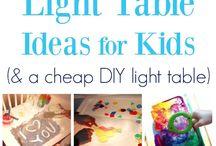 Idéer ljusbord