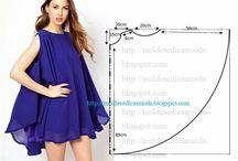 WOONDERFULL DRESS / Azul marino y negro.Una combinación de colores sobria y elegante acompañada de un seductor escote.
