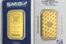 Gold Bullion Bars / An assortment of gold bullion bars from various manufacturers are available online at TexasBullion.com.  Take advantage of our incredible pricing on all gold bars while shopping securely from the convenience of home.
