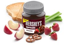 Pair with HERSHEY'S Spreads  / foods you'd like to pair with HERSHEY'S Spreads or recipes you want to try with the new product! / by Heather Raineyfree
