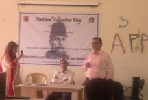National Education Day / Several faculty members and students of JIS Group of Colleges celebrated of National Education Day on Nov. 11, 2014, in their college premises.