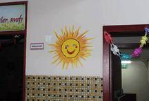 duvar resimlerim / duvar üzerine resimleme