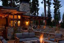 Kamin und Feuerstellen