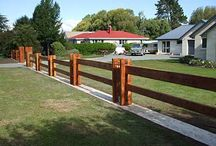 recinzione su canale