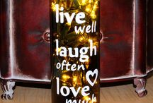 Wine and Crafts / Wine- crafts and ideas too:) / by Mya O'Malley