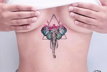 elephant tatoo