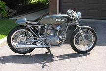 Cafe Racers and Classic Road Bikes / Retro motorcycles and classic bikes