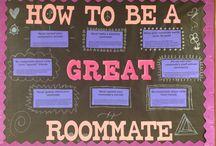 Hall board ideas