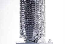 Architecture tower models