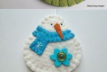 Holiday crafts ornaments