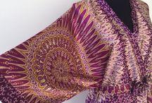 Oscar de la renta Kaleidoscope Dream Robe Size M