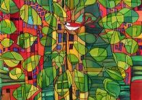 hundertwasser / the most amazing contemporary artist and aqrui