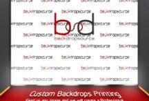 Custom Printing Backdrops